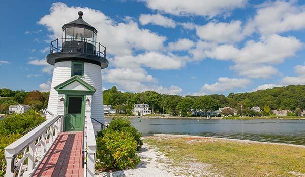 Mystic Seaport in Mystic, Connecticut